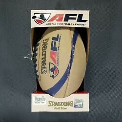 Vtg Rare Spalding Arena Football League Afl Official Full Size Football New