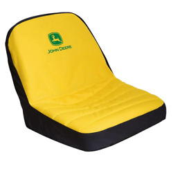 John Deere Exclution 16.25 In. Riding Mower Seat Cover Elastic Cord Polyester