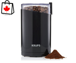 Krups Electric Spice And Coffee Grinder With Stainless Steel Blades 3-ounce Bl