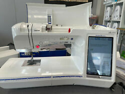 Brother Quattro 6000d Disney Computerized Sewing And Embroidery Machine