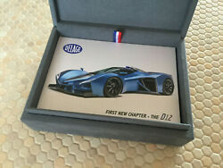 Delage D12 Gt And D12 Club Promotional Boxed Sales Brochure 2021 New Usa Edition