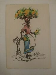 Alice Scott 1924-2005 Gouache Watercolor 1945 Awesome Piece Listed Artist