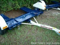 2021 Master Tow Dolly 80 Thd Carhauler Totter Trailer Led Lights Hd