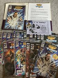 Mr T And The T Force Comics Press Kit Signed Gold Edition /10000 Auto X3 Read
