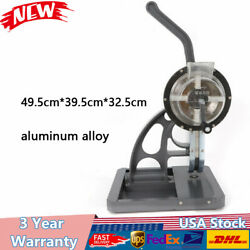 New 3/8 Semi-automatic Grommet Machine Hand Press,w/ 2 Eyelet Banner Grommets