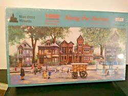 Spilsbury Along The Avenue By Sandi Lebron 1000 Piece Panoramic Puzzle New