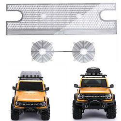 Metal Grille Water Tank Heat Sink Plate For 110 Trx-4 New Ford Bronco Rc Car