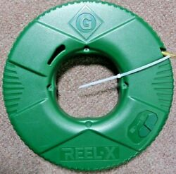 Greenlee Ftxf-100 Reel-x 100' Non-conductive Fish Tape New W/ Free Shipping