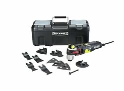 Rockwell Rk5151k 4.2 Amp Sonicrafter F80 Oscillating Multi-tool With Duotech ...