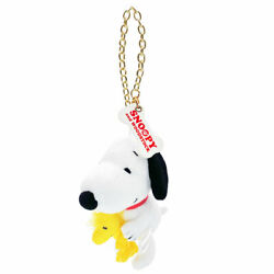 Universal Studios Japan Limited Snoopy And Woodstock Mascot Keychain From Japan