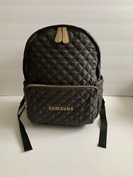 NEW YORK . 4181 SATCHELS QUILTED SAMSUNG BACKPACK Laptop Women $15.50