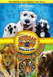 JIM HENSON S ANIMAL SHOW WITH STINKY AND JAKE : LIONS TIGERS AND BEARS DVD