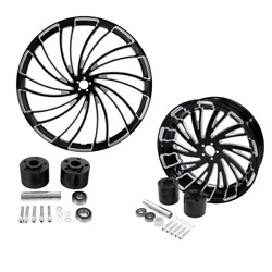 30 Front Rear Wheel Rim Disc Hub Fit For Harley Touring Road Glide 2008-2021 18