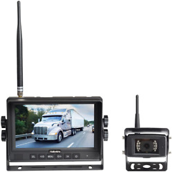 Haloview Mc7108 Wireless Rv Backup Camera System 7and039and039 Monitor Built In Dvr...