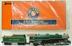 Lionel 6-28057 Southern 4-8-2 Mountain Steam Locomotive And Tender Ex/box