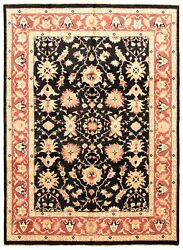 Hand-knotted Carpet 9'0 X 12'3 Traditional Oriental Wool Area Rug