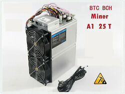 Used Btc Bch Miner Love Core A1 Miner Aixin A1 Hash Rate 25th/s Sha-256 With Psu