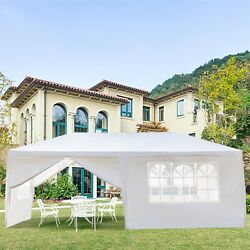 10 X 20 Outdoor Party Wedding Tent Canopy Camping Gazebo Storage Bbq Shelter