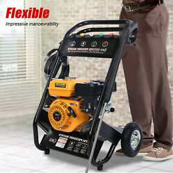 7h-p 4-stroke Gas Petrol Engine Cold Water Pressure Washer With Spray Gu-n New.
