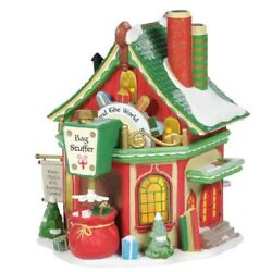 Department 56 North Pole Village St. Nick's Gift Sorting Center Building 6005431
