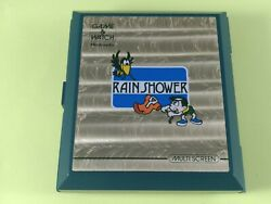 Nintendo Lp 57 Rain Shower Handheld Video Game And Watch Great Working Condition