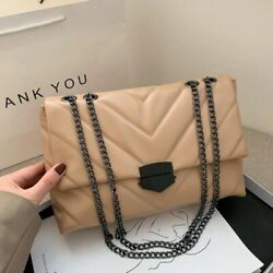 New Casual Chain Cross body Bags For Women Fashion Simple Shoulder Bag Ladies $25.99