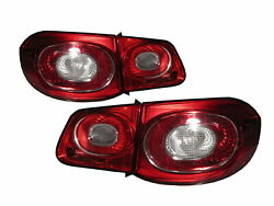 Tiguan Mk1 2009-2011 5d Clear Tail Rear Light Red For Vw Volkswagen