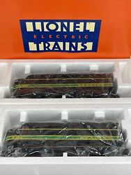 Lionel 6-18934 Fa-2 Alco A-a Diesel Engines Reading Railroad 300 And 304 New