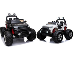 Mototec Monster Truck 4x4 12v 2.4ghz With Charger - 3 To 5 Years Old - 5 Mph