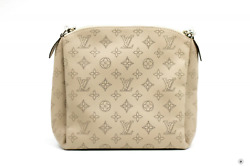 Used Louis Vuitton Babylone Chain Bb Light Taupe Calfskin Shoulder Bags Shw Auth