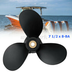 7 1/2x8-ba Outboard Propeller For Yamaha 4hp 5hp 6hp 2and4 Stroke
