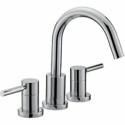 Mirabelle Mired3rtcp Edenton Deck Mounted Roman Tub Faucet Trim With Metal Lever