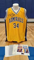 1994 Kevin Garnett Signed High School Game-used Jersey Auto Sia Photo Matched