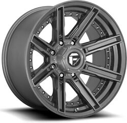 Alloy Wheels 20 Fuel Rogue D710 Grey For Ford Ranger [mk2] 06-09