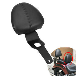 Driver Rider Backrest Support Black Fits Indian Scout Sixty Scout 2015-2021