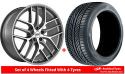 Alloy Wheels And Tyres 20 Bbs Cc-r For Mercedes Cls-class [w218] 11-17