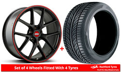 Alloy Wheels And Tyres Wider Rears 19 Bbs Ci-r Nurburgring Bmw 5 Series [f11]