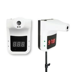 Infrared Thermometer No Contact Wall Mount Or Stand With Alarm.