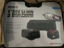 1/2 20v Li-ion High Power Impact Wrench Kit Matco Mcl2012hpiwk Unopened