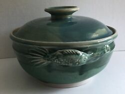 Vintage Pottery Tureen And Bowls
