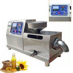 Commercial Stainless Automatic Electric Screw Oil Press Machine Walnut Expeller