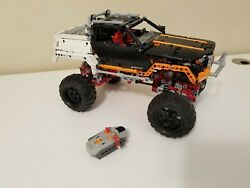 Lego Technic 4x4 Rock Crawler 9398 Complete Set With All Parts, Tested And Works