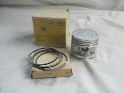 Honda Nos Aftermarket Sl125 Piston And Rings Set 3.00 Mm. S136