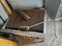 Heavy Duty Grill Charbroiler Used