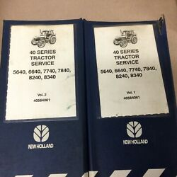 New Holland Ford 40 5640 6640 7740 8240 8340 Tractor Service Repair Shop Manual