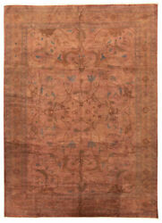 Hand-knotted Transitional Carpet 9and0399 X 13and0398 Area Rug In Copper