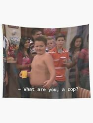 Gibby What Are You A Cop Tapestries Gibby Wall Tapestry