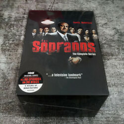 The Sopranos The Complete Series Dvd 2014 30-disc Box Set Region 1 Ships Now