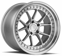 Aodhan Ds08 Ds8 18x10.5 5x114.3 22 Silver Machined Wheels4 73.1 18 Inch Rims