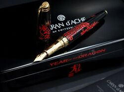 Caran D'ache 2012 Year Of The Dragon Limited Edition Fountain Pen 203/888 M